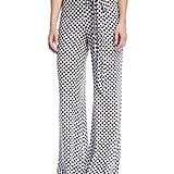 Tularosa Lillian Polka-Dot Print Wide-Leg Pants