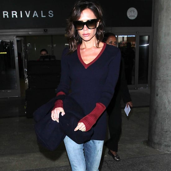 Victoria Beckham Wearing Skinny Jeans October 2016