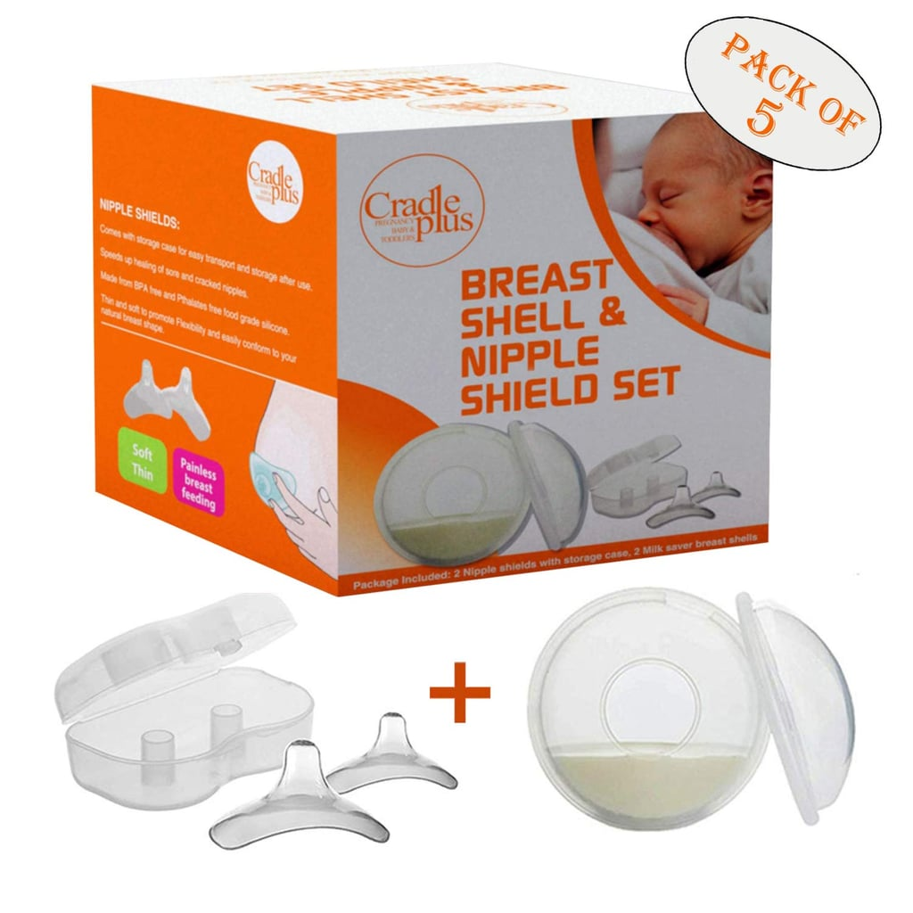 Nipple Shield and Breast Shell For Breast Feeding
