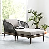 Corded Weave Outdoor Lounge Chair