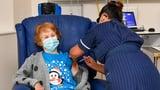 Watch Margaret Keenan Get the First Pfizer COVID-19 Vaccine