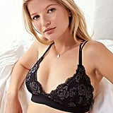 Out From Under Lace Padded Fusion Triangle Bra