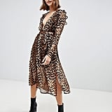 ASOS Leopard Midi Dress