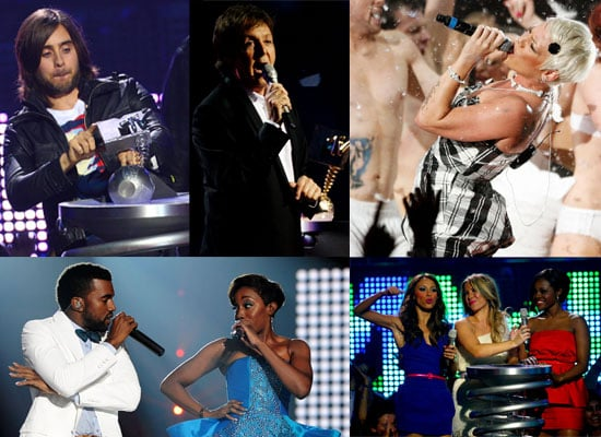 Photos From The 2008 MTV Europe Music Awards On Stage and Winners!