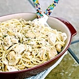Lemon Chicken Spaghetti Toss
