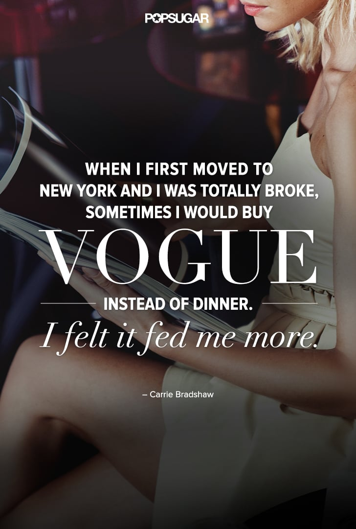 fashion quotes sex and the city