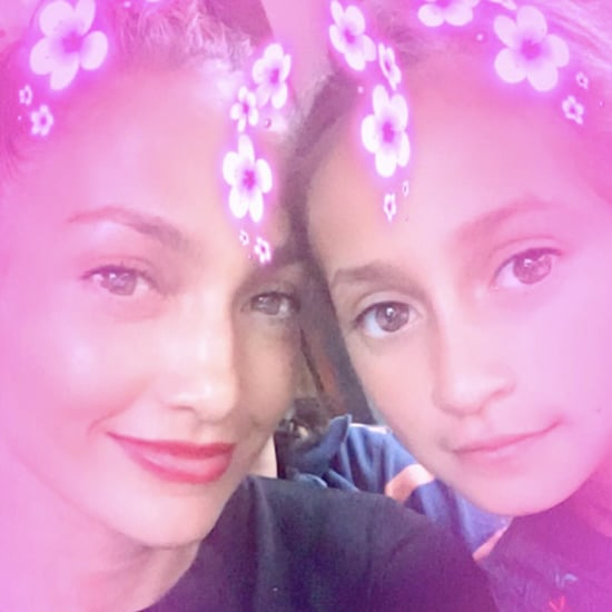 Jennifer Lopez and Her Daughter Emme Sept. 2016