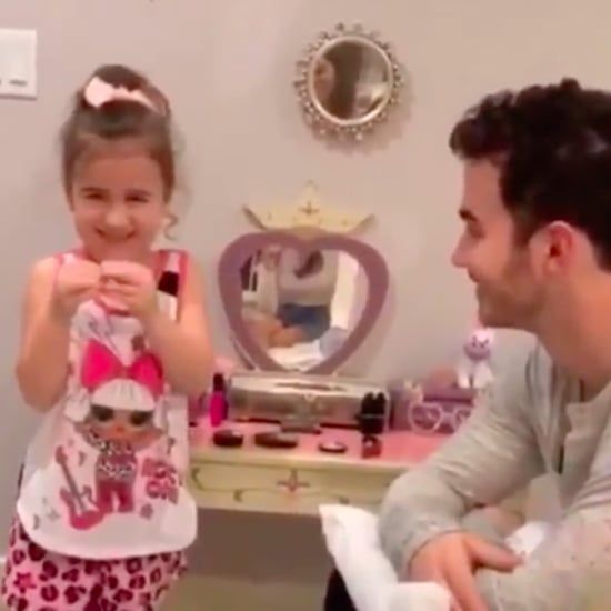 Kevin Jonas Daughter Alena Saying He's a Jonas Brother Video