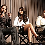 Bradley Cooper answered questions at the Silver Lining Playbook sreening in LA.