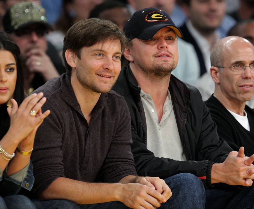 Leonardo DiCaprio and Tobey Maguire | Celebrity Best ... тоби магуайр
