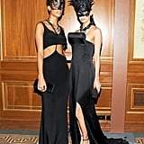 Carly Cushnie and Michelle Ochs at the Save Venice Ball in New York. Photo: Billy Farrell BFAnyc.com
