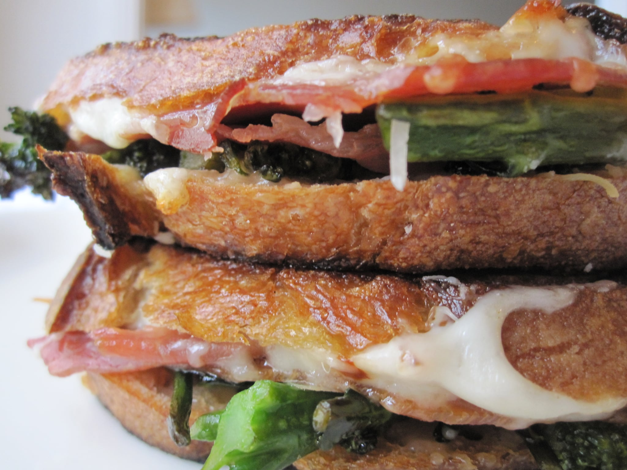 Grilled Cheese With Prosciutto and Broccoli Rabe Recipe ...