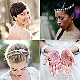 When your wedding day finally arrives, the planning is finally over, and it's your turn to sit back, relax, and let the pampering begin. No matter how you've chosen to wear your hair or makeup, this is your day to feel absolutely gorgeous and remember forever. To help you be as prepared as possible, POPSUGAR Beauty collected inspiring shots that will capture how sublimely stunning you look and feel at your wedding. Source: Style Me Pretty