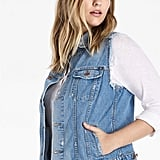 Lucky Brand Plus Size Denim Tomboy Trucker Vest