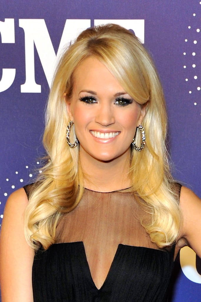 Carrie Underwood wore a sexy black pantsuit in Tennessee.