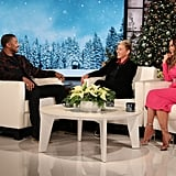 Michael B. Jordan on The Ellen DeGeneres Show 2018