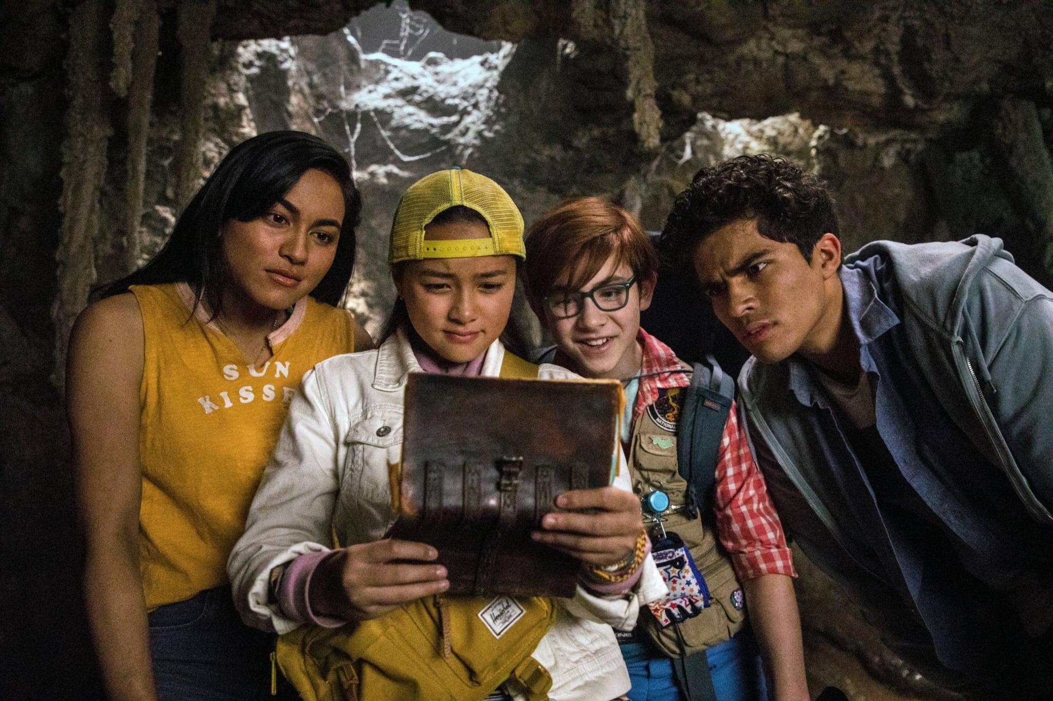 FINDING OHANA, from left: Lindsay Watson, Kea Peahu, Owen Vaccaro, Alex Aion, 2021. ph: Chris Moore /  Netflix / Courtesy Everett Collection