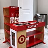 Dad Builds Target and Starbucks Playsets For Daughter