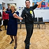 Camilla and Craig Revel Horwood in London in October 2009