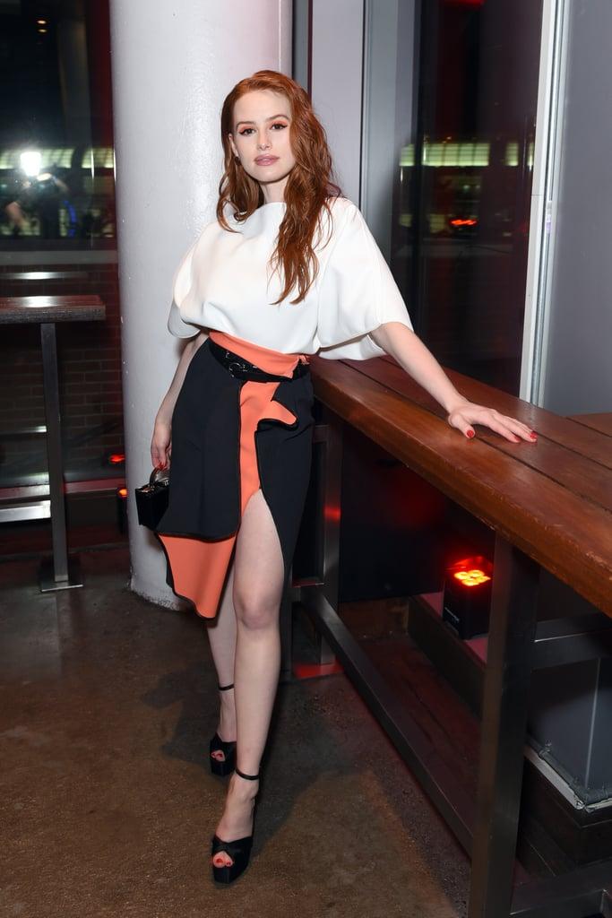Madelaine Petsch in Neon Beauty Trend