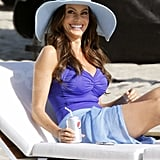 David Beckham Joins a Swimsuit-Clad Sofia Vergara For a Beachy Shoot!