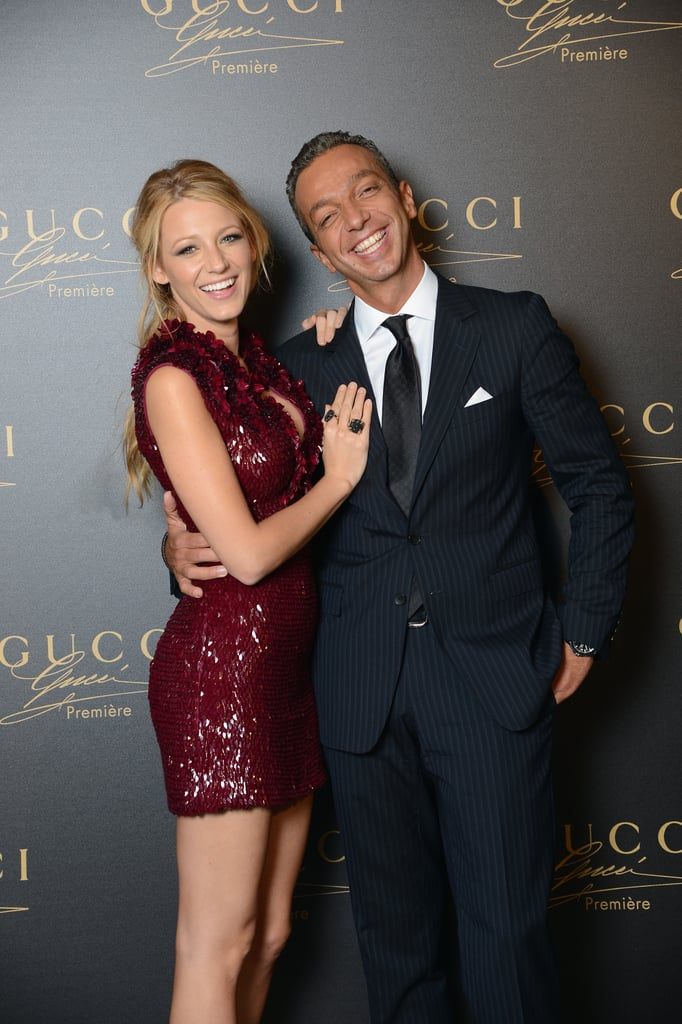Blake Lively Wears a Hot Mini to Celebrate Her Gucci Film at Venice