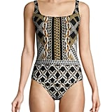 Gottex Swim Chain Print One-Piece