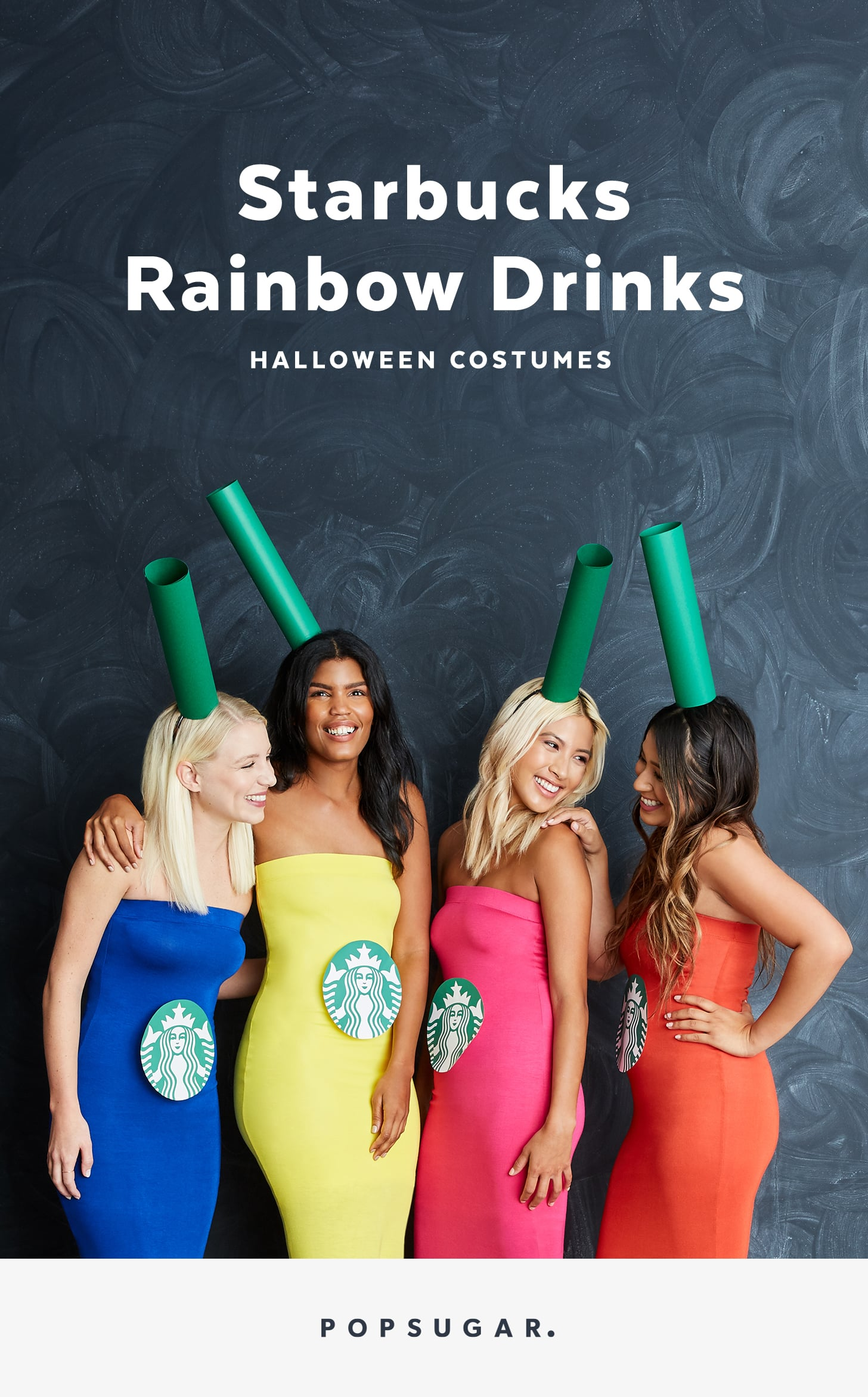 Diy starbucks group halloween costume popsugar smart living did somebody order the perfect costume for a group of girlfriends because weve got your new favorite halloween idea all ready to diy solutioingenieria Image collections
