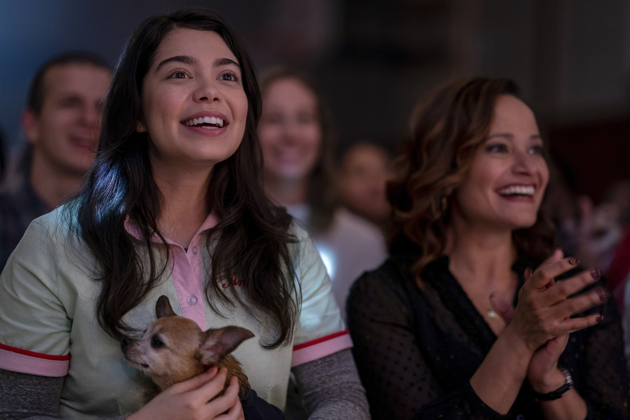 ALL TOGETHER NOW, from left: Aulii Cravalho, Judy Reyes, 2020. ph:  Allyson Riggs /  Netflix / Courtesy Everett Collection