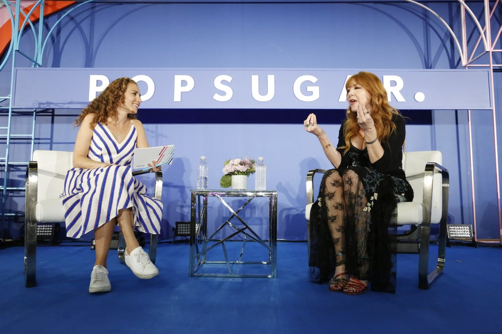 Pictured: Lisa Sugar and Charlotte Tilbury