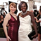 Pictured: Viola Davis and Bryce Dallas Howard