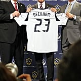 David officially announced two more years with the LA Galaxy.