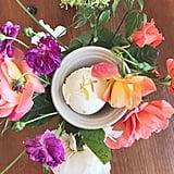 Lemon Verbena With Calendula Petals at Nimble & Finn's