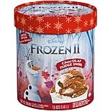 Disney Frozen 2 Chocolate Fudge Swirl Ice Cream