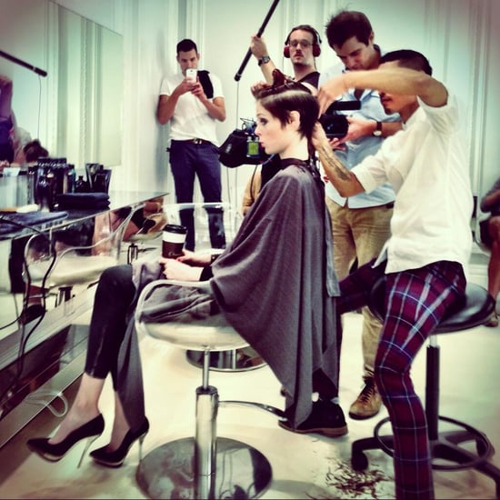 Coco Rocha Haircut on Instagram