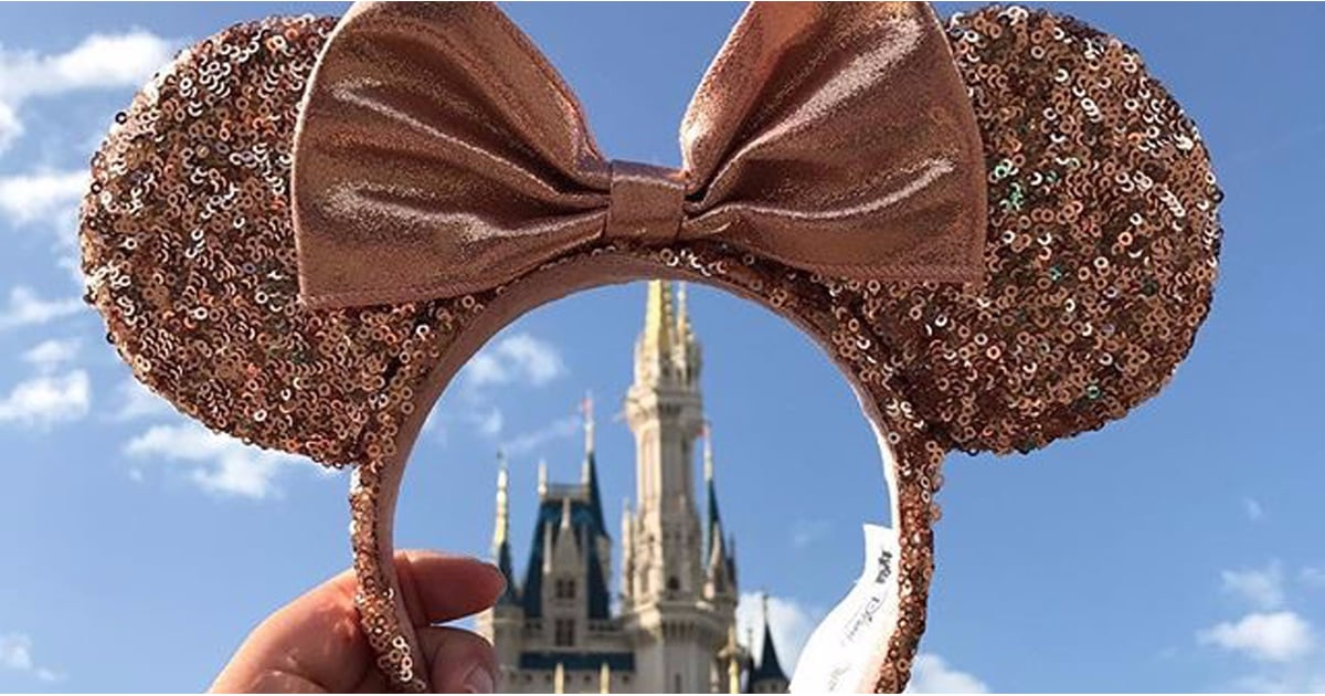 Disney Just Released Official Rose Gold Minnie Ears, and We're Obsessed