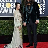 Lisa Bonet and Jason Momoa at the 2020 Golden Globes