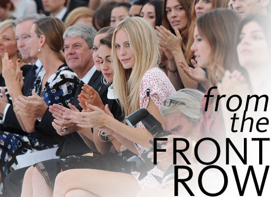 Pictures of Celebrities Front Row at Paris Fashion Week, including Rachel Zoe, Alexa Chung, Hailee Steinfeld and the Olsens!
