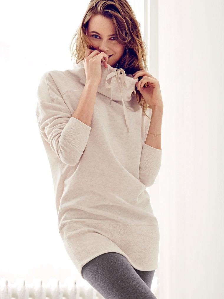 Victoria's Secret Fleece Cowl-Neck Tunic