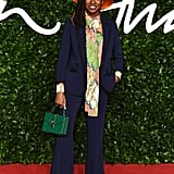 Little Simz at the British Fashion Awards 2019
