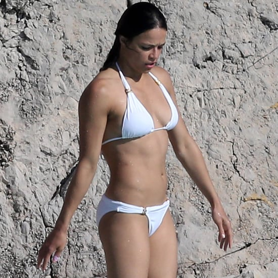 Michelle Rodriguez in Her Bikini May 2015