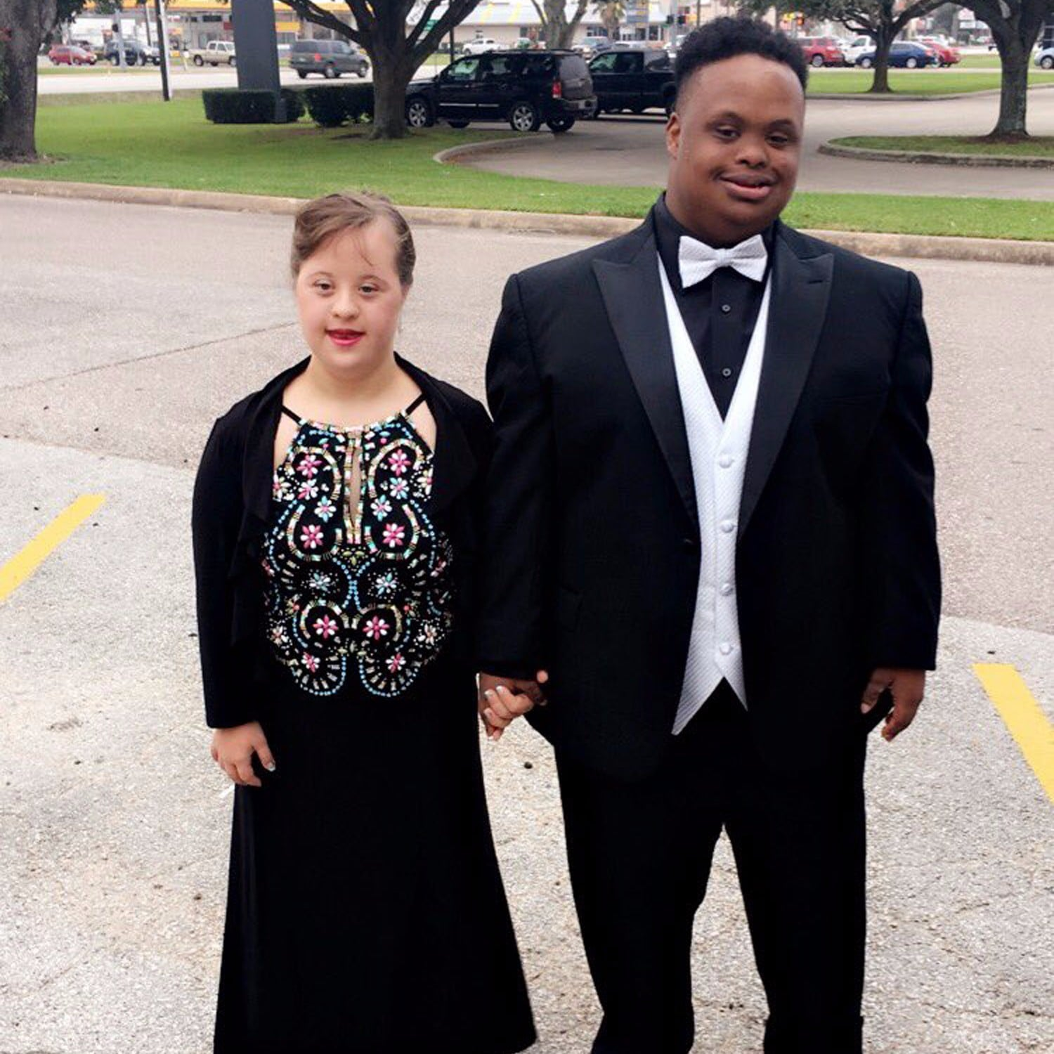prom photo of couple down syndrome moms