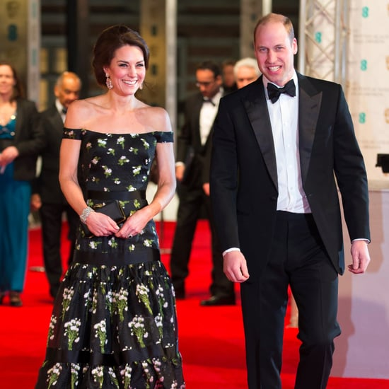 Duchess of Cambridge and Prince William at the 2017 BAFTAs