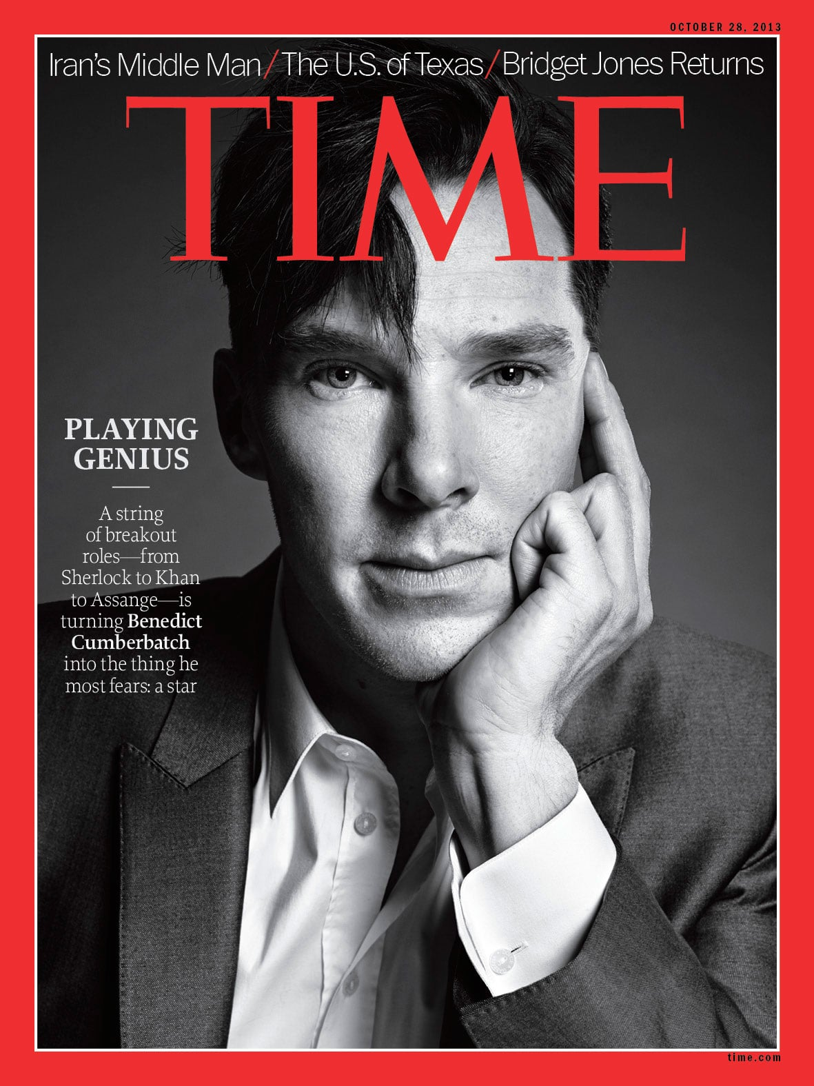 He thought his Time magazine cover was a joke.