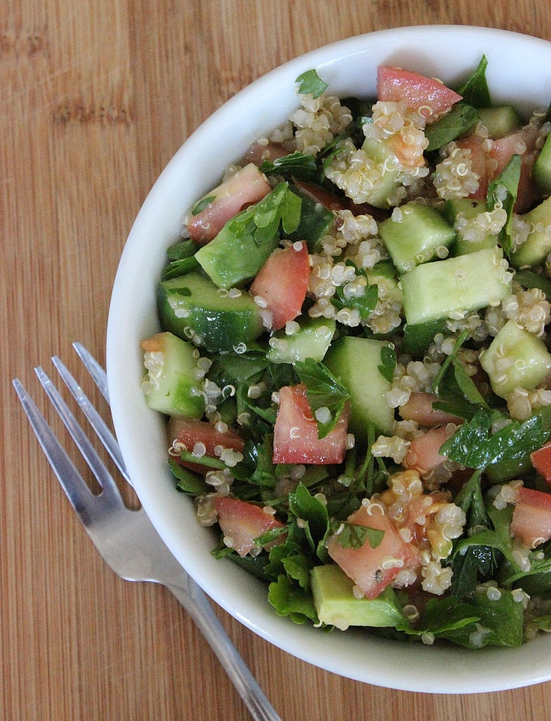 Tabbouleh Quinoa Salad | 32 Vegan Lunches You Can Take to Work ...