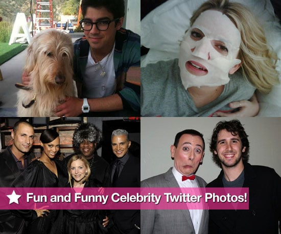 Fun and Funny Celebrity Twitter Photos! 2010-02-25 07:45:00