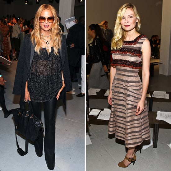 Kirsten Dunst and Rachel Zoe Get Front Row at the Rodarte Runway Show
