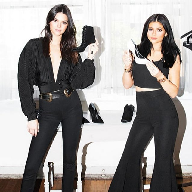 Kendall and Kylie Jenner Shoe Line