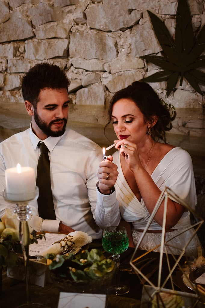 Cannabis-Themed Wedding