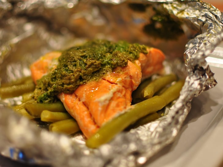 Fridge Cake Recipe Jamie Oliver: Jamie Oliver's Simple Salmon Recipe With Green Beans And